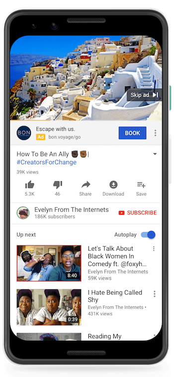 Google Ads Changes:The new look call-to-action overlay